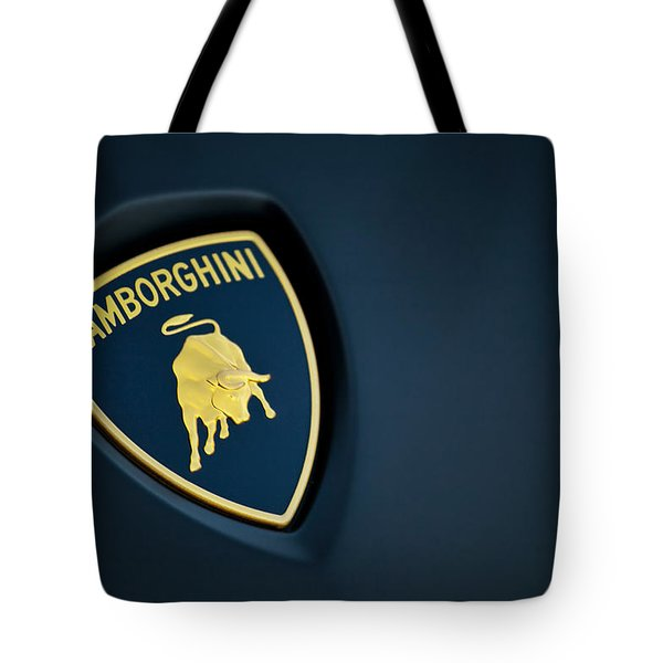 Tote Bag featuring the photograph Lamborghini  by ItzKirb Photography
