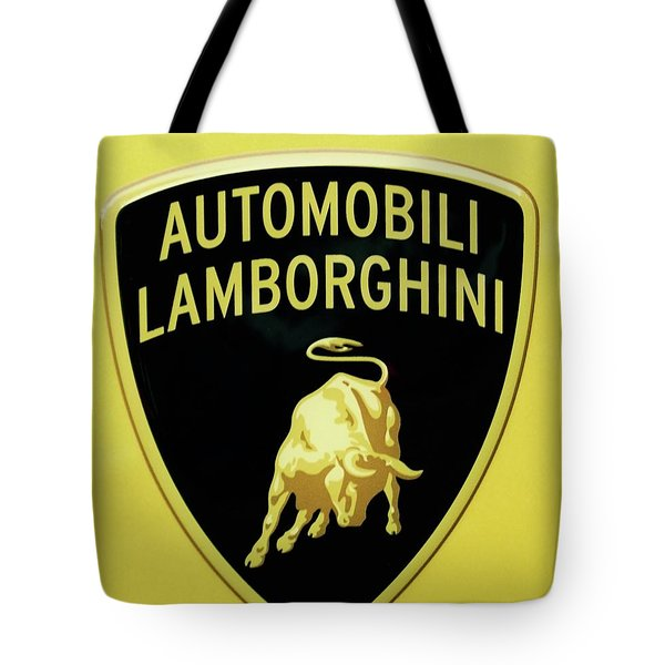 Lamborghini One Tote Bag