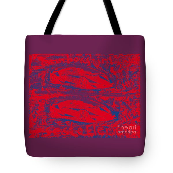 Lamborghini Sesto Elemento Two Point Two Million His And Hers Tote Bag by Richard W Linford