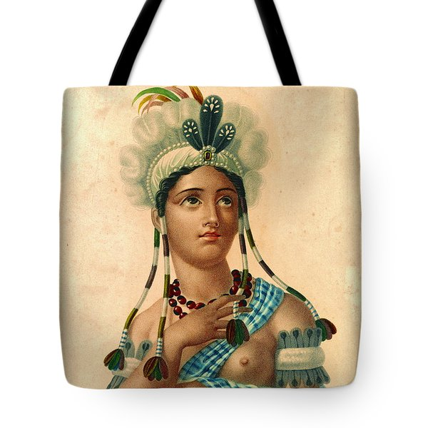 L'amerique 1820 Tote Bag by Padre Art