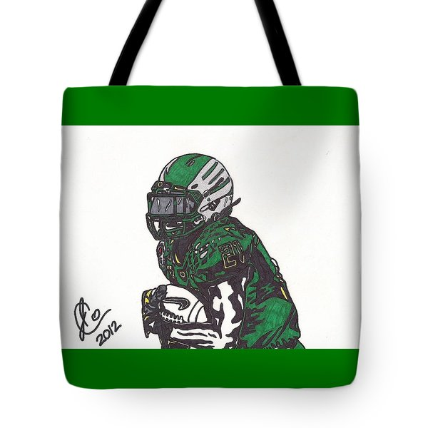 Lamicheal James 1 Tote Bag by Jeremiah Colley