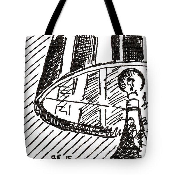 Lamp 1 2015 - Aceo Tote Bag
