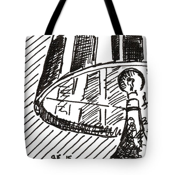 Lamp 1 2015 - Aceo Tote Bag