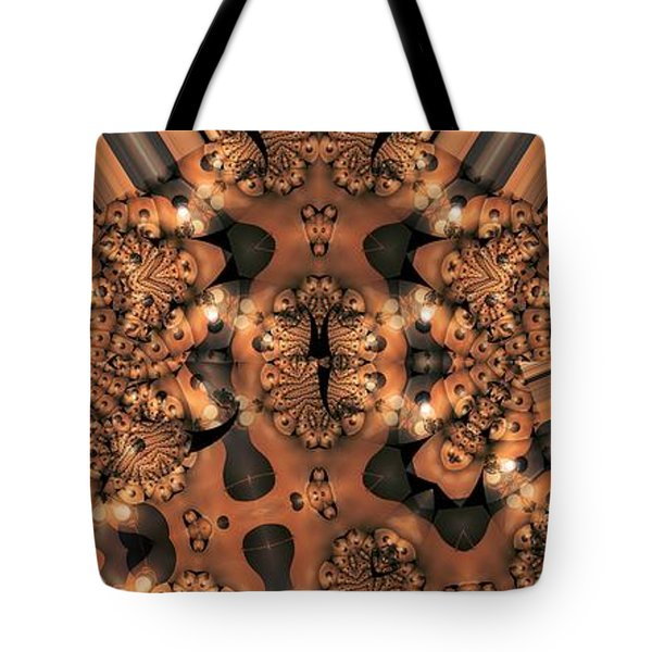 Lamp Light 3 Tote Bag by Ron Bissett