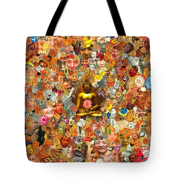Lamps Of Enlightenment Tote Bag by Peter Gumaer Ogden