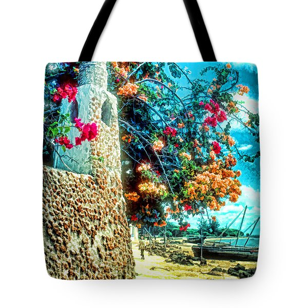 Lamu Beach Tote Bag