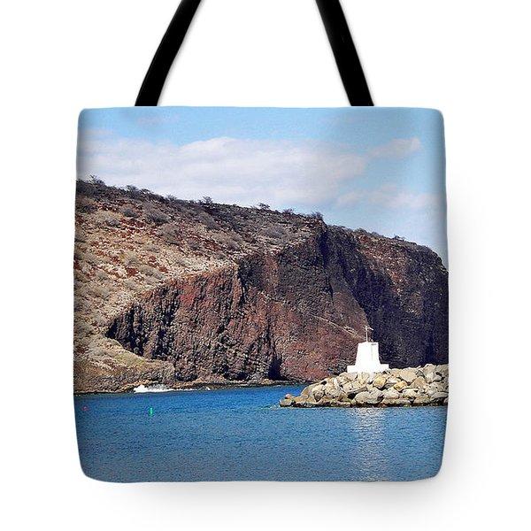 Lanai Harbor Tote Bag