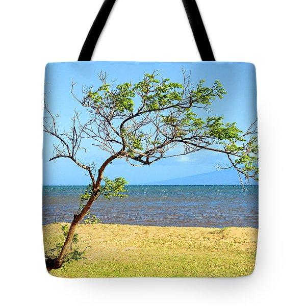 Lanai Leaning Tote Bag