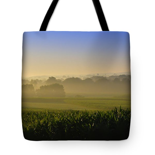 Lancaster County Sunrise Tote Bag