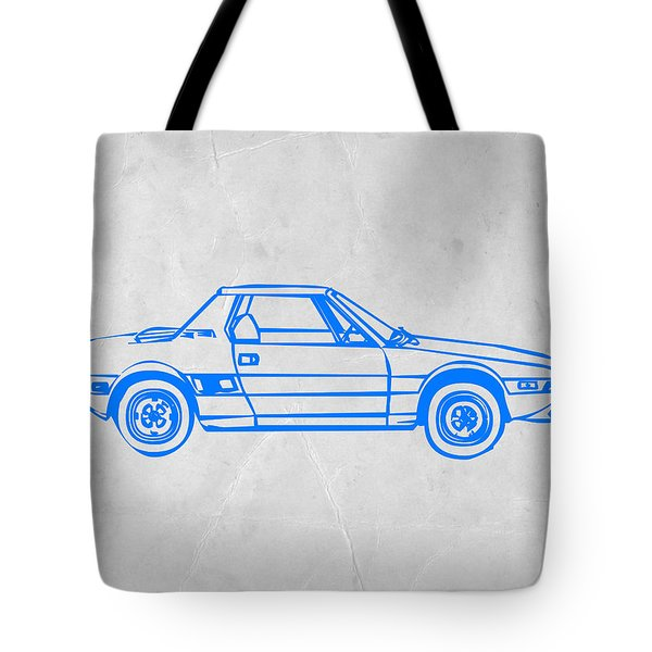 Lancia Stratos Tote Bag by Naxart Studio