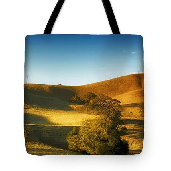 Land 2 Tote Bag