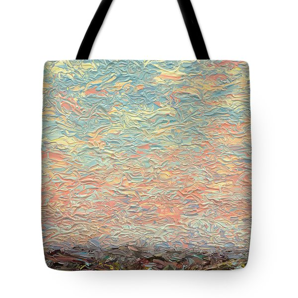 Land And Sky 3 Tote Bag