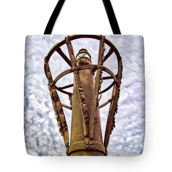 Tote Bag featuring the photograph Land Buoy No 6 by Gary Slawsky