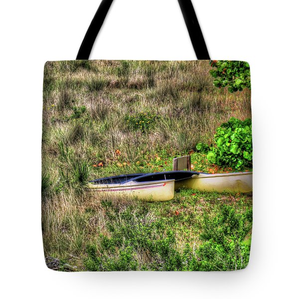 Tote Bag featuring the photograph Land Locked by Tom Prendergast