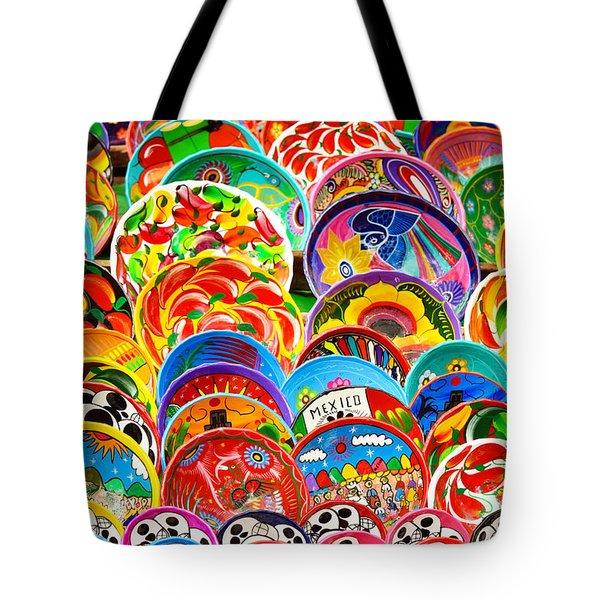 Land Of Brilliant Color Tote Bag