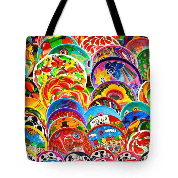 Land Of Brilliant Color Tote Bag