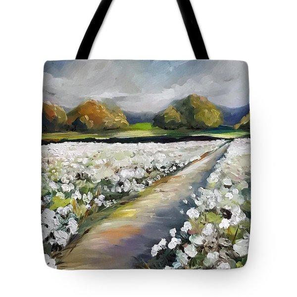 Land Of Cotton Tote Bag
