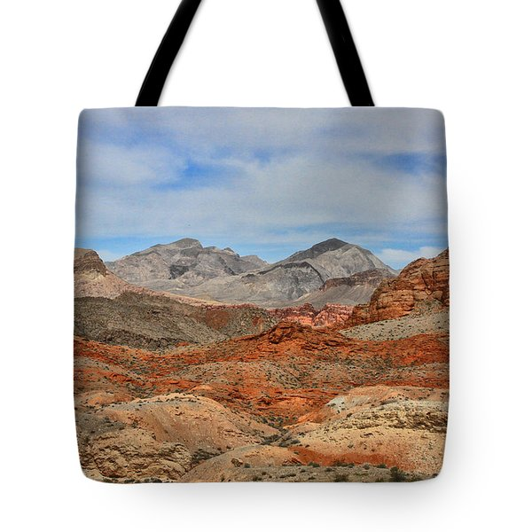 Tote Bag featuring the photograph Land Of Fire by Tammy Espino