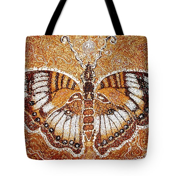 Land Of Gold Tote Bag by Bankole Abe