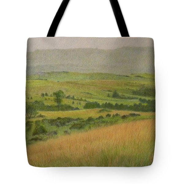Land Of Grass Tote Bag