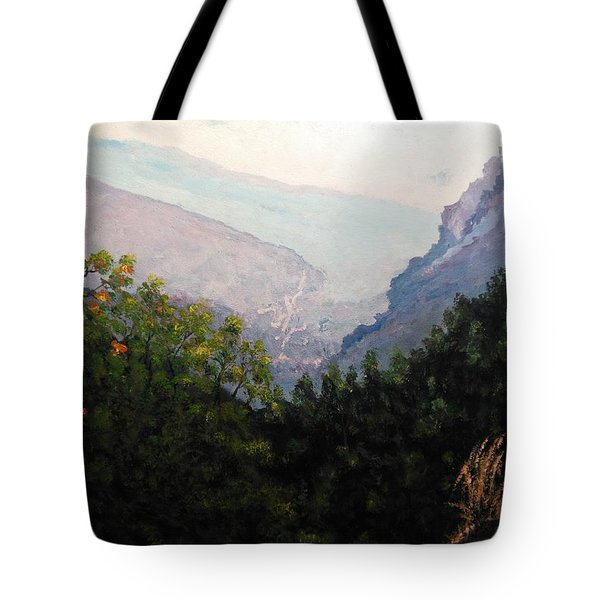 Land Of Inspiration Tote Bag