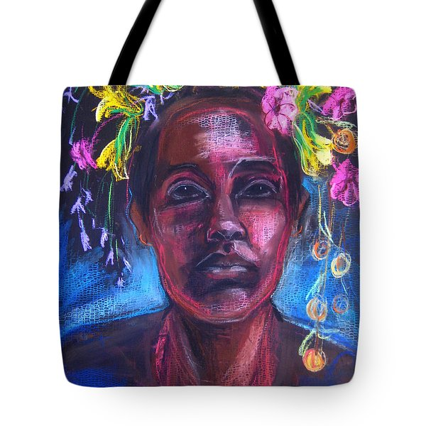 Tote Bag featuring the drawing Land Of Plenty by Gabrielle Wilson-Sealy