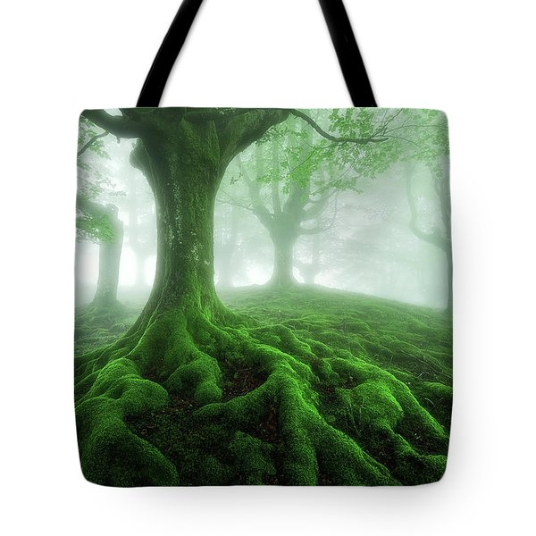 Land Of Roots Tote Bag