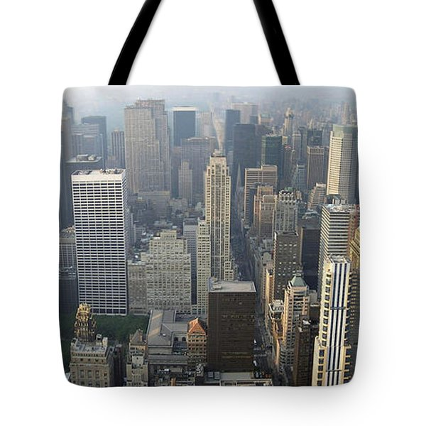 Land Of Skyscapers Tote Bag