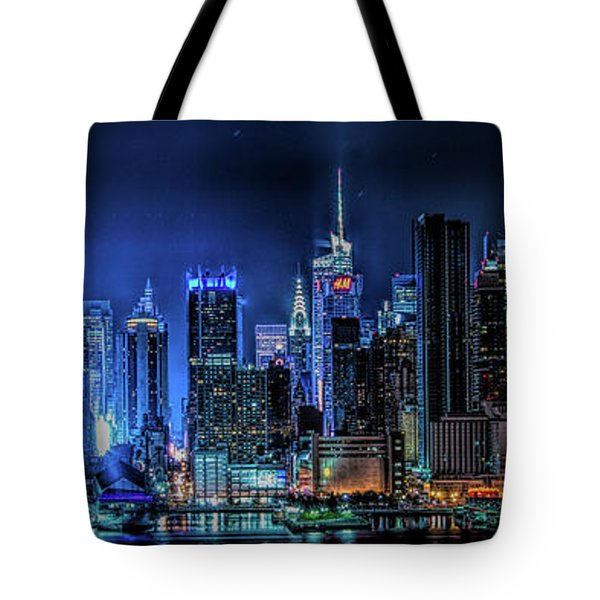 Land Of Tall Buildings Tote Bag