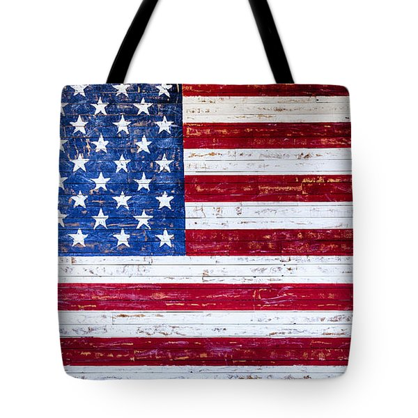 Land Of The Free Tote Bag by David Millenheft