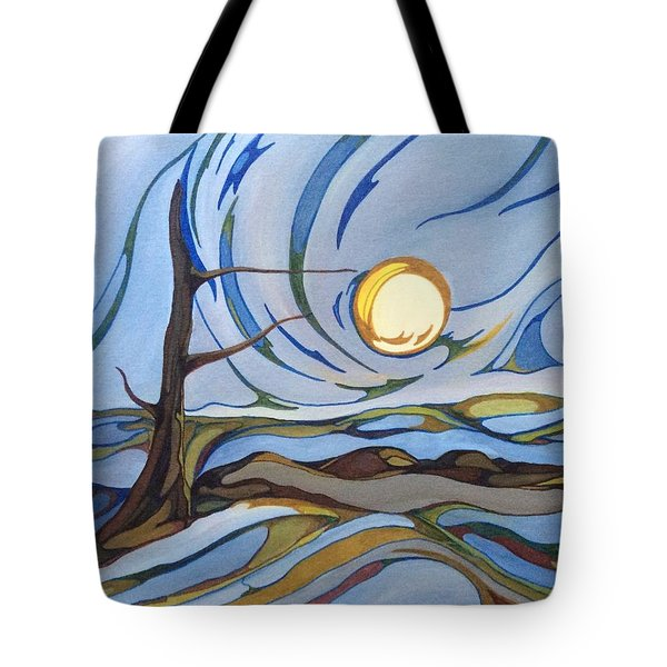 Land Of The Midnight Sun Tote Bag by Pat Purdy