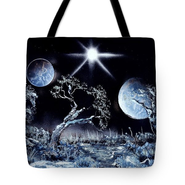 Land Of The Stars Tote Bag