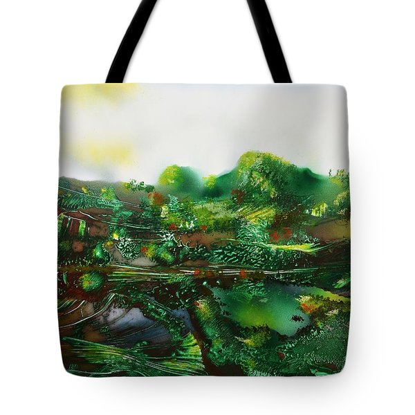 Land Of The Trolls Tote Bag