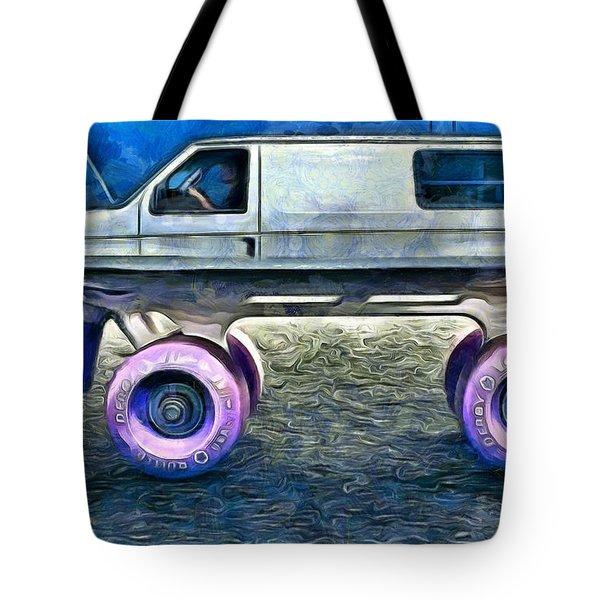 Land Roller Tote Bag