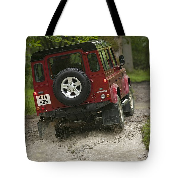 Land Rover Defender Tote Bag