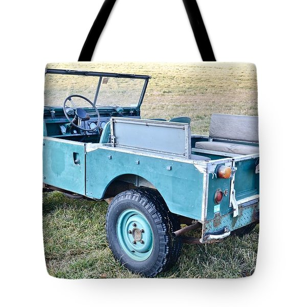 Land Rover Tote Bag