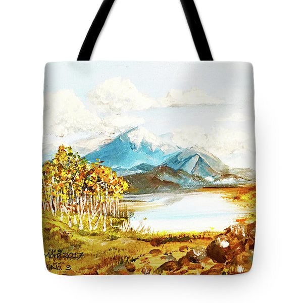 Land Scape No.-3 Tote Bag