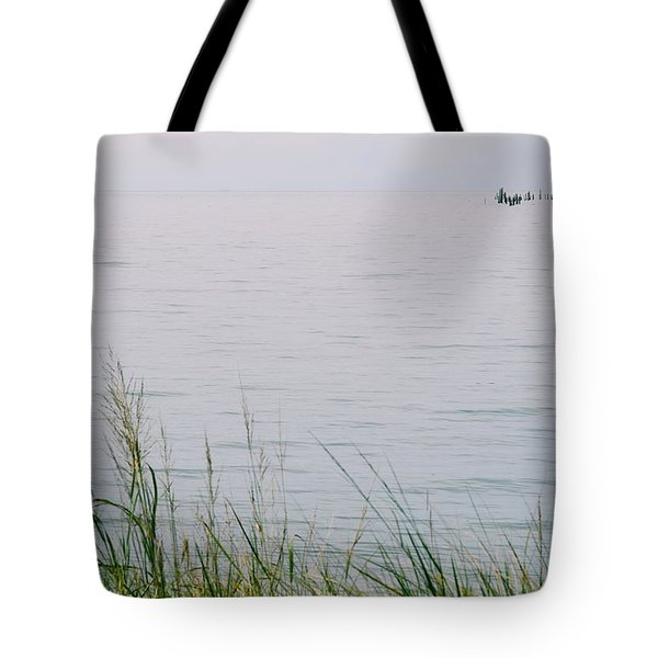 Tote Bag featuring the photograph Land To Sea by Deborah  Crew-Johnson
