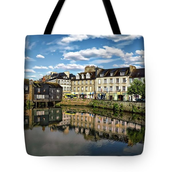 Landerneau Village View Tote Bag