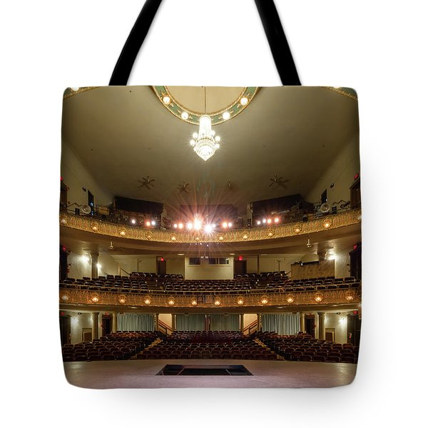 Landers Theatre Tote Bag