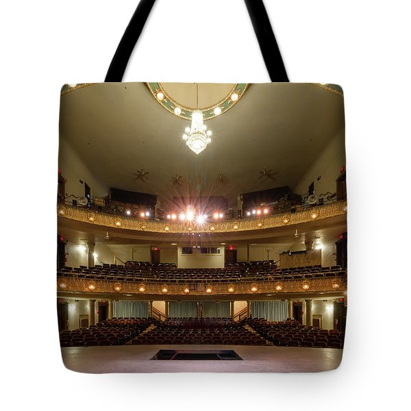 Landers Theatre Tote Bag
