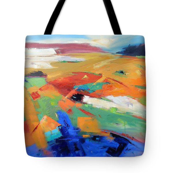 Landforms, Suggestion Of Place Tote Bag