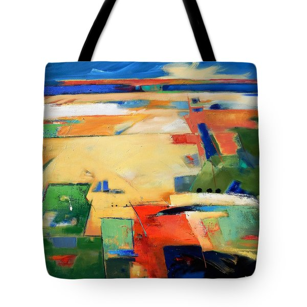 Landforms, You've Never Been Here Tote Bag