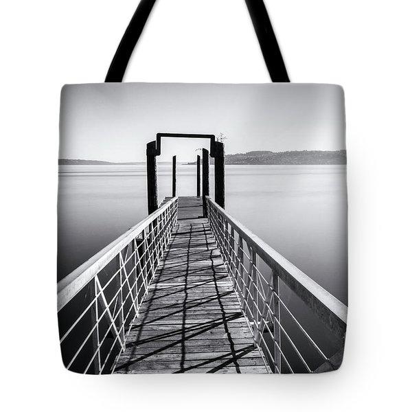 Landing Dock Tote Bag
