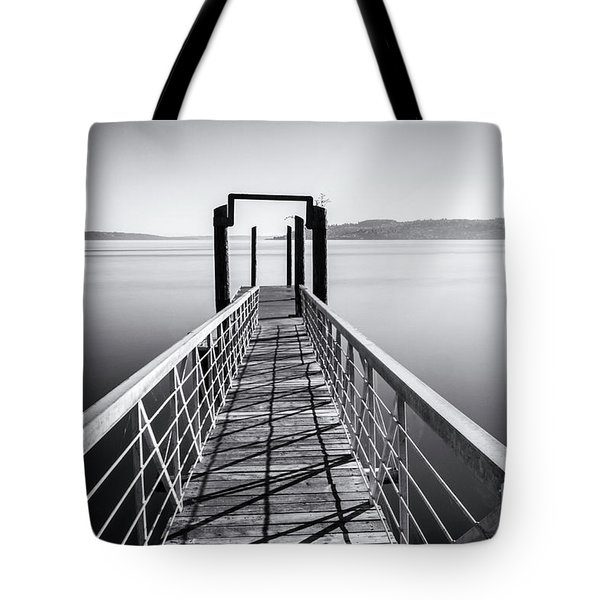 Landing Dock Tote Bag