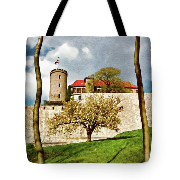 Landmark Sparrenburg Castle Tote Bag
