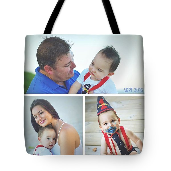 Landon Collage  Tote Bag