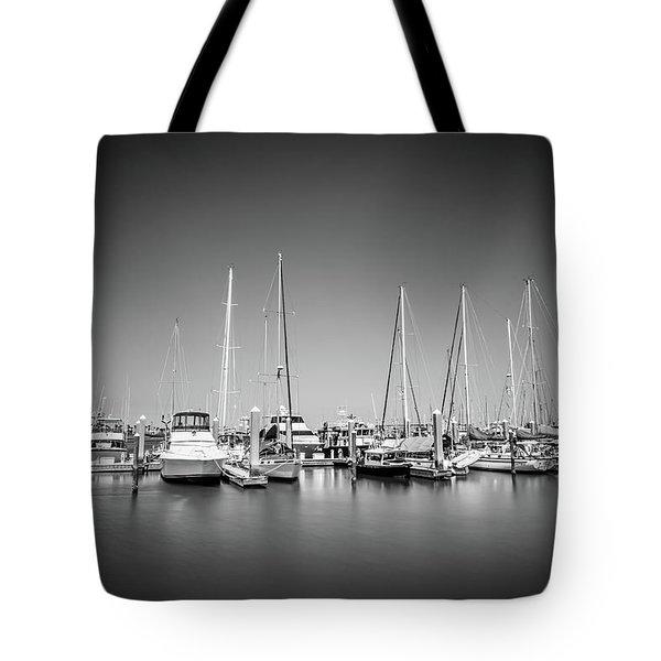 Lands End Marina  Tote Bag