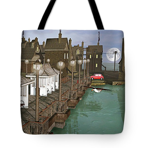Lands End Pier Tote Bag