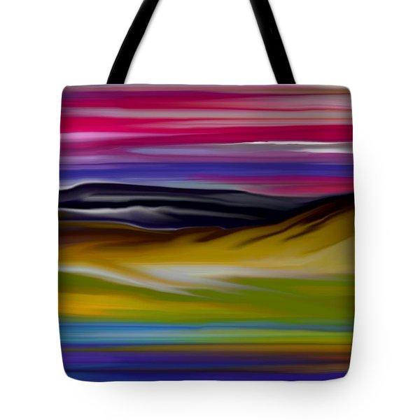Landscape 7-11-09 Tote Bag by David Lane